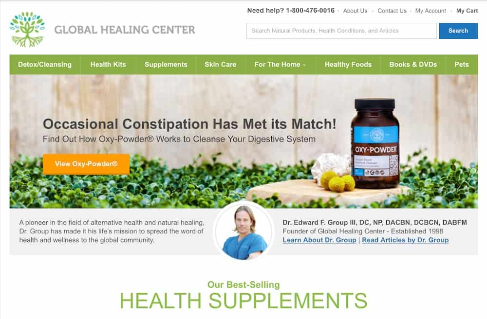 My Global Healing Center Reviews