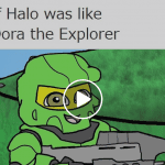 a picture of If halo was like dora the explorer