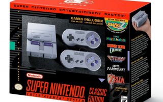 SNES Classic Mini To Be Released For Christmas In 2017