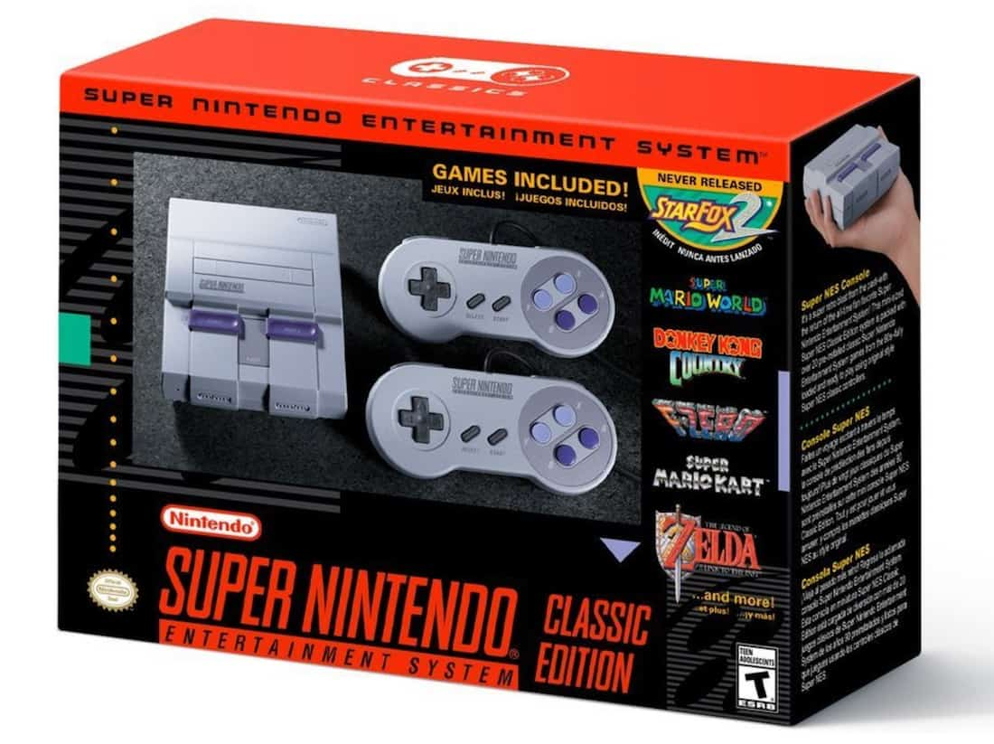 a picture of a SNES Classic remake