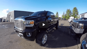 a picture of alifted 2017 gmc denali 2500 hd