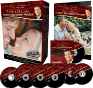 a picture of tony robbins ultimate relationship program