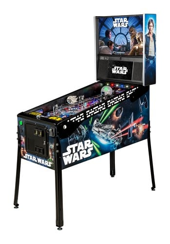 a picture of a star wars le pinball from stern