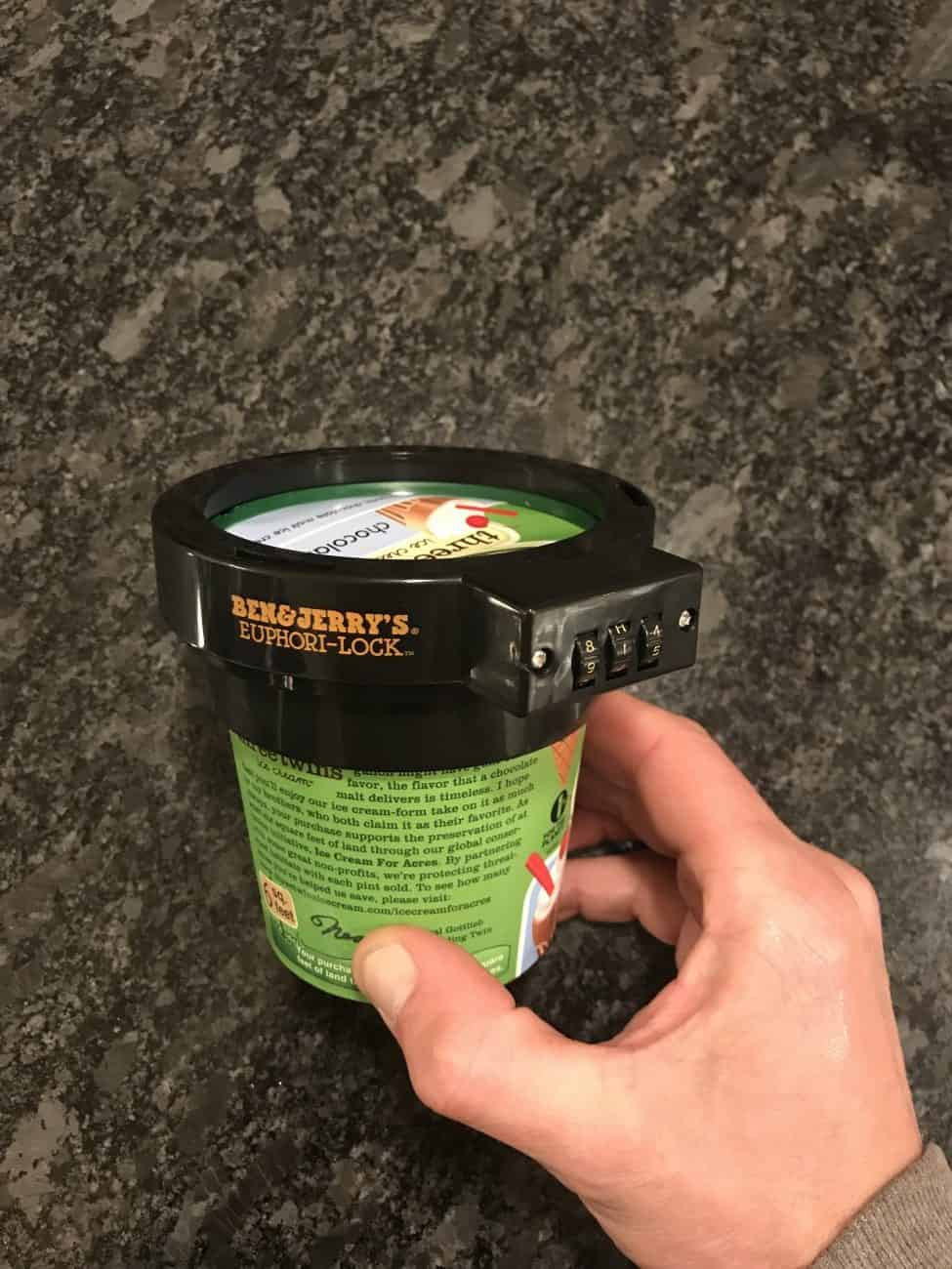 a photo of Ben And Jerrys Ice Cream Lock