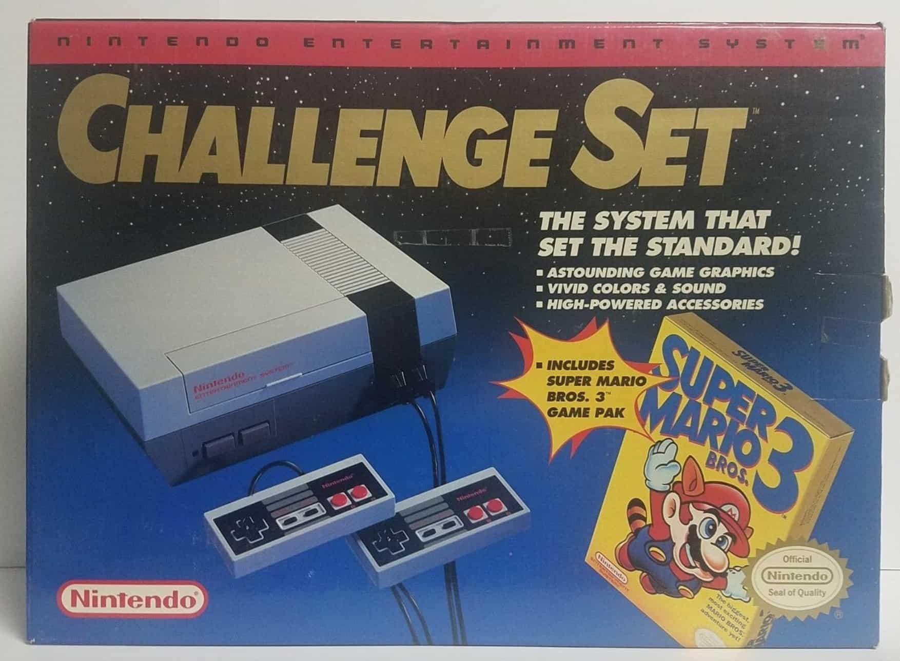 a picture of a nes challenge set