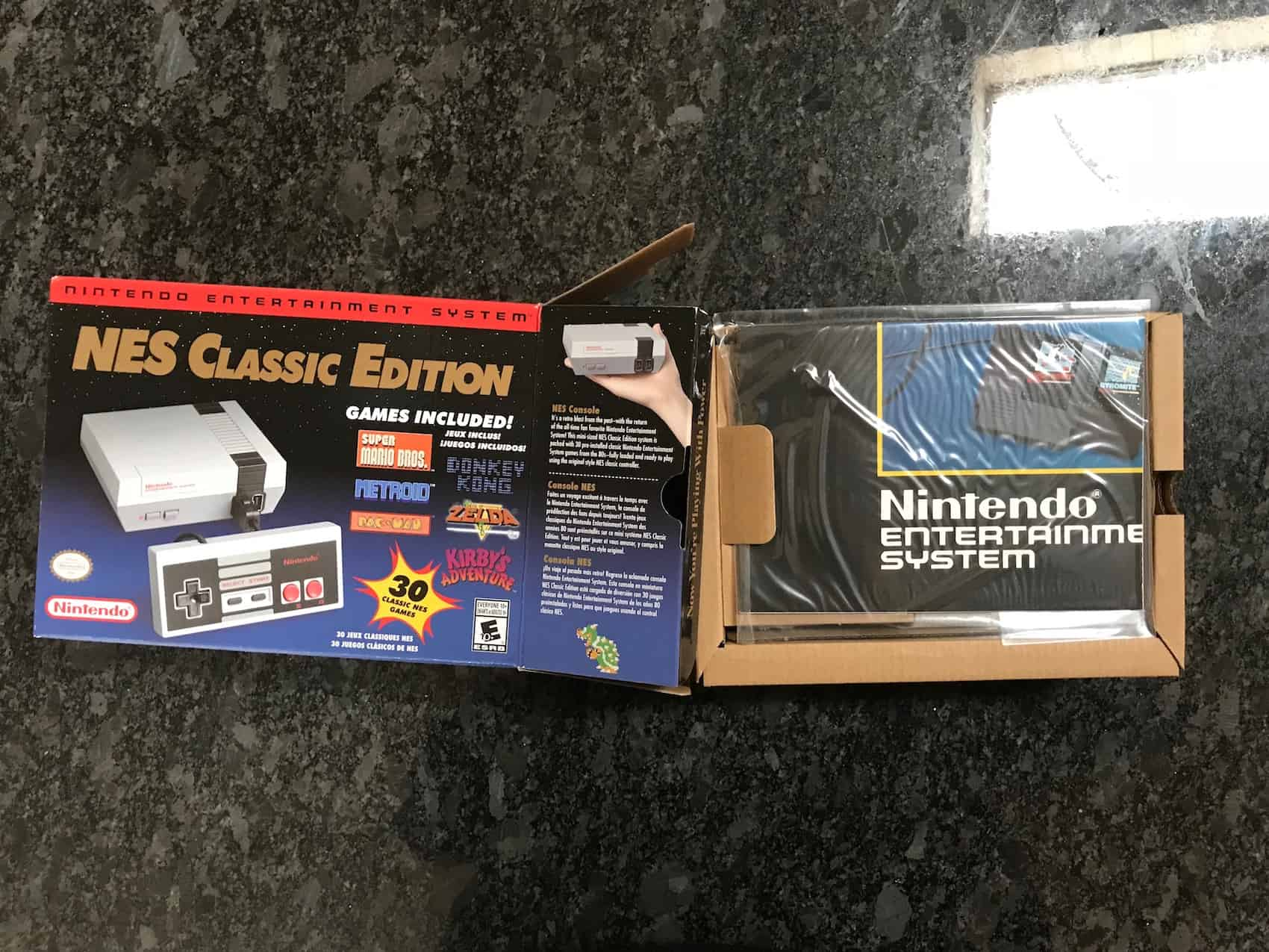 a picture of the nes classic
