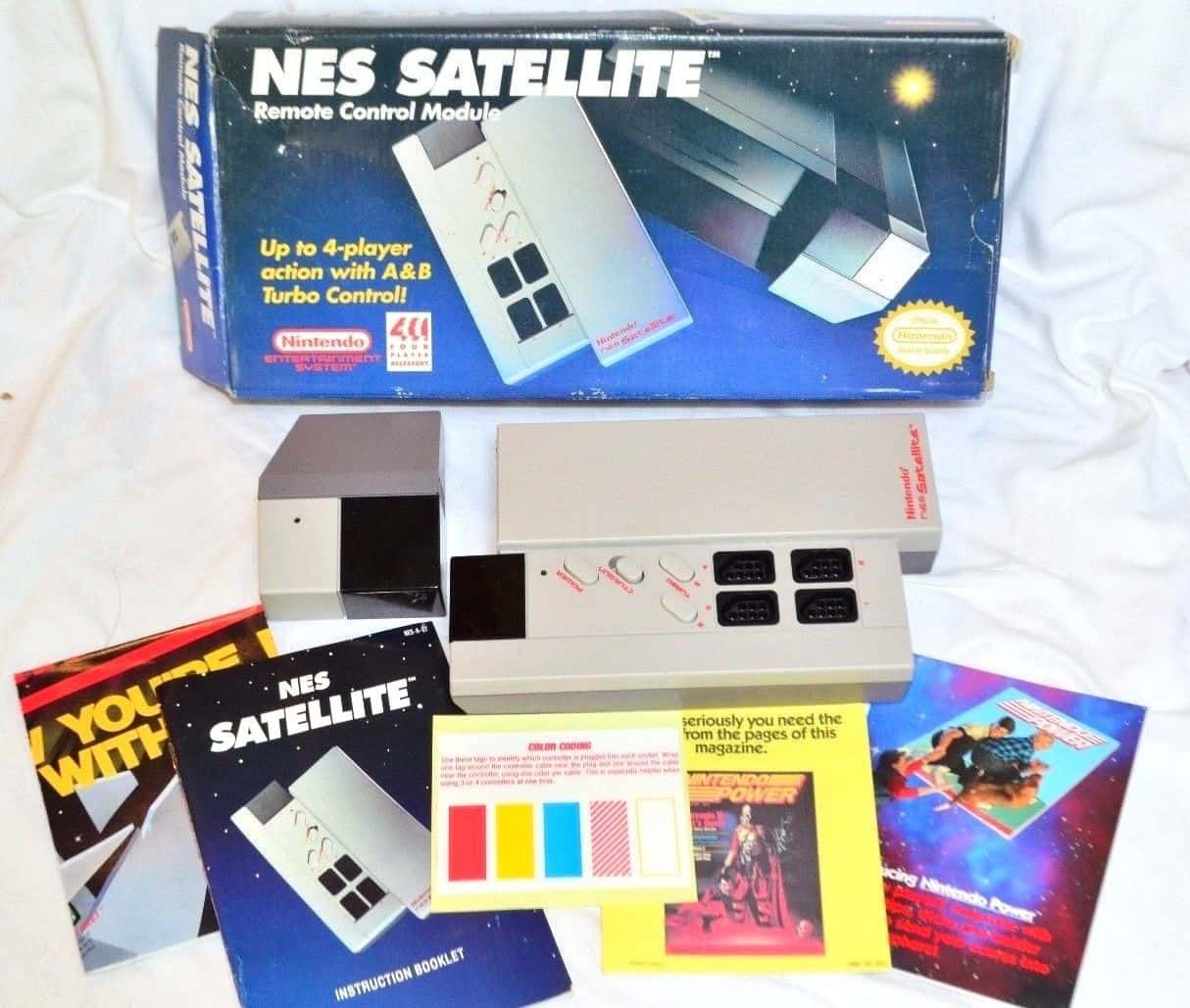 a picture of a NES satellite