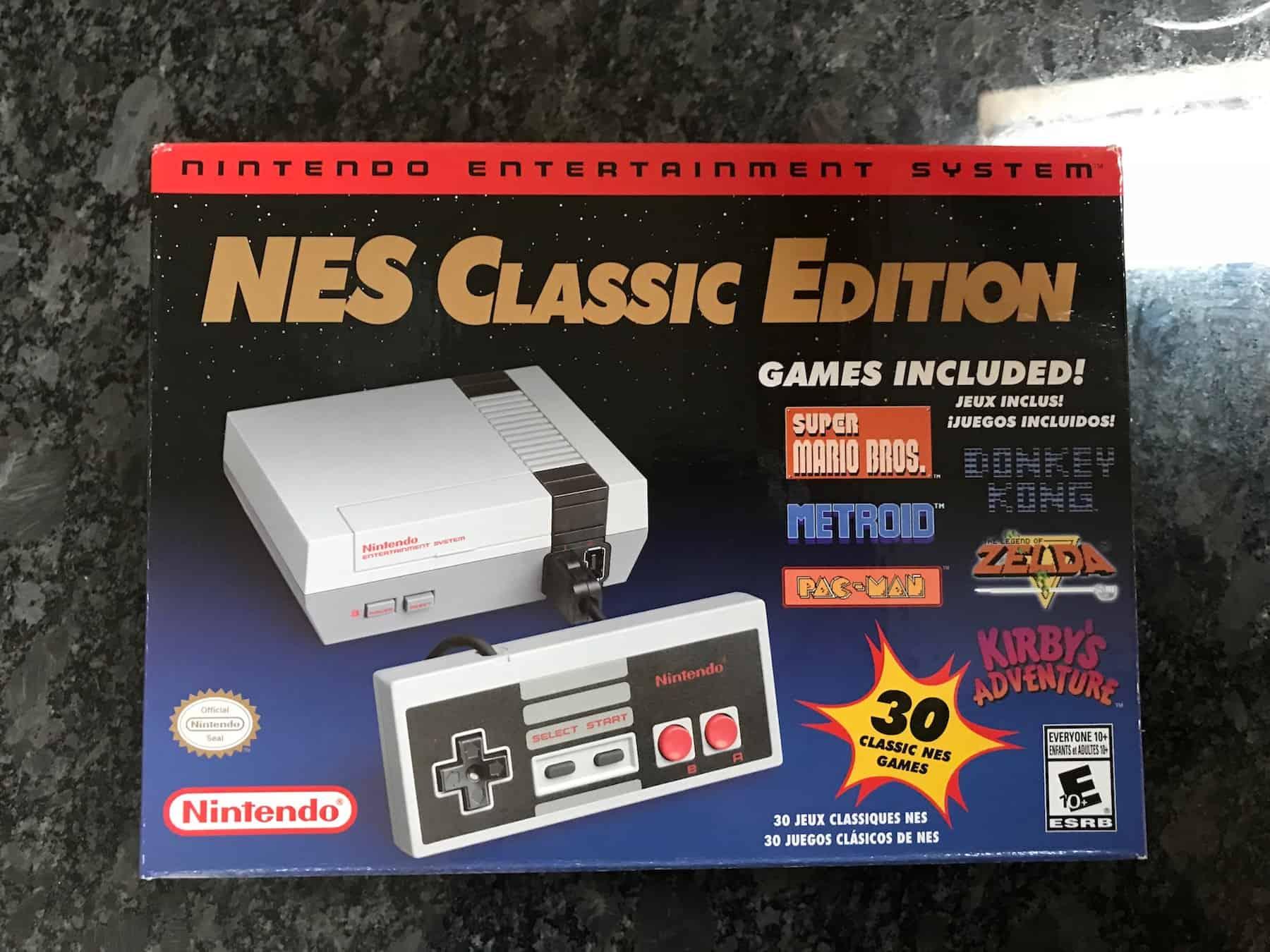a picture of a NES classic mini