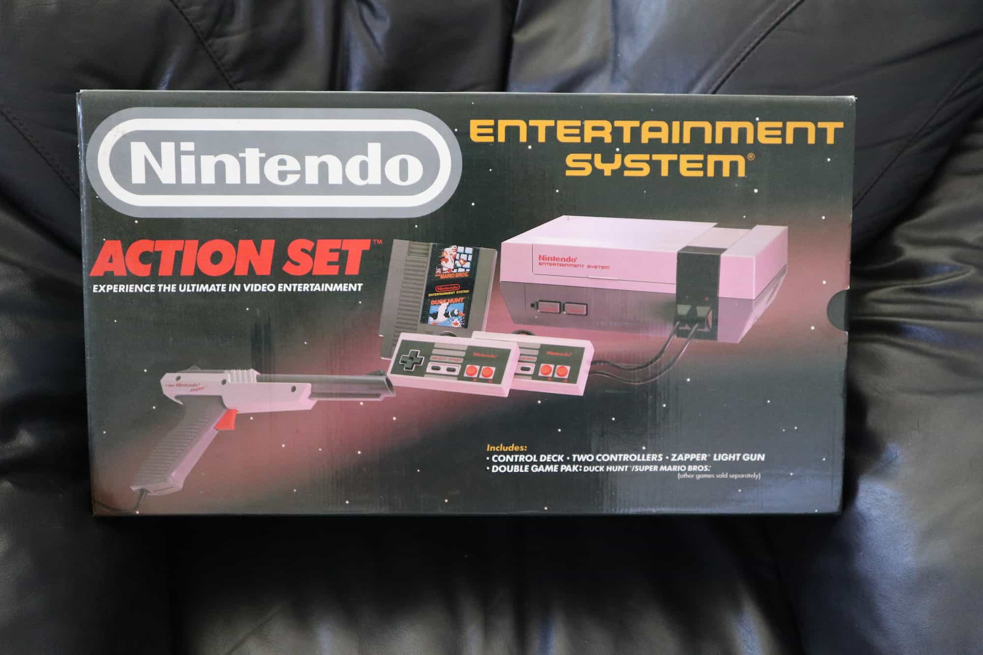a picture of a nes action set