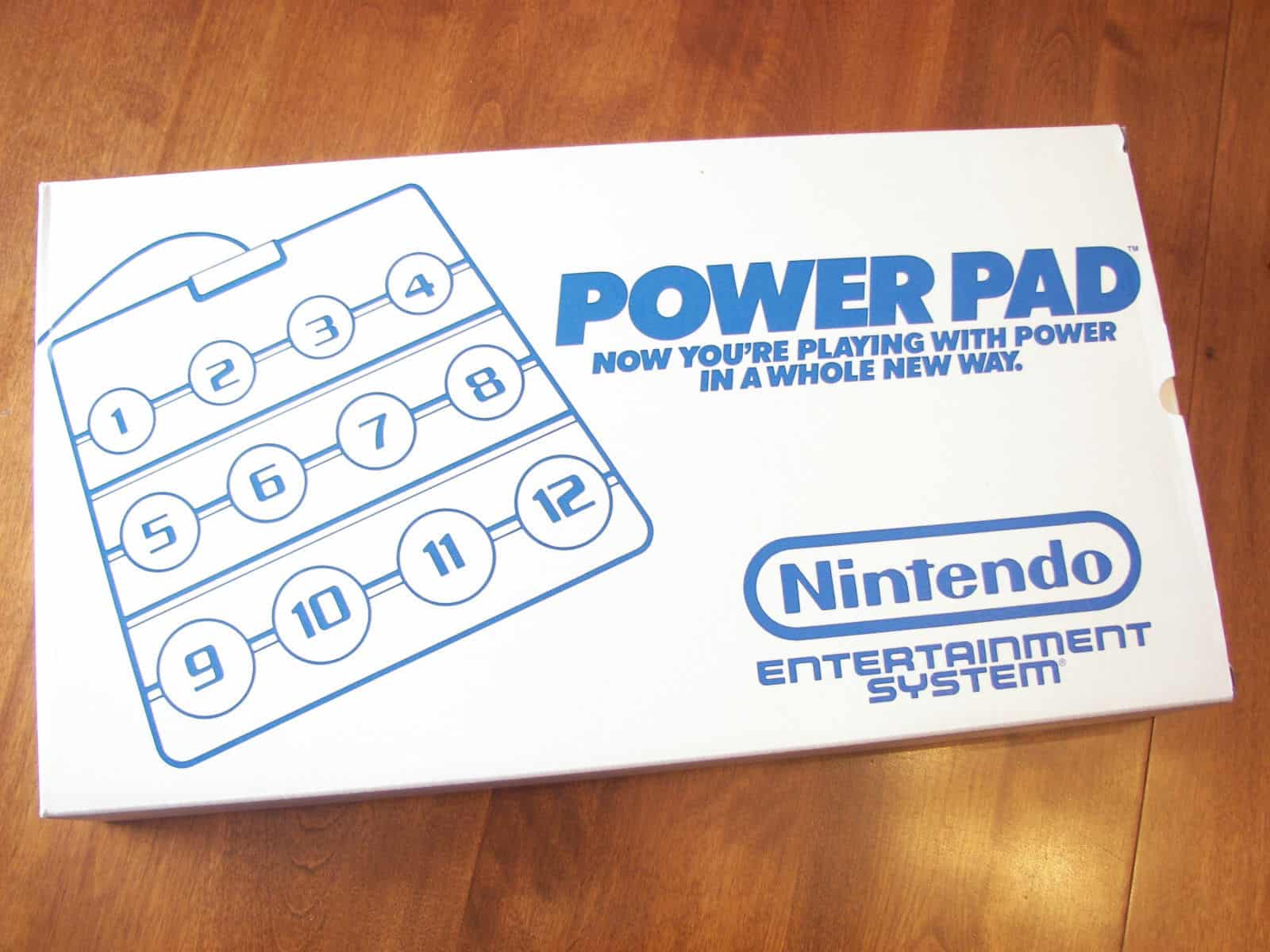 a picture of a power pad for nes power set