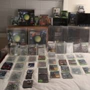 a picture of my halo collection
