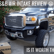 Denali HD S&B Air Intake Review