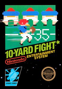 NES 10-yard fight cover art