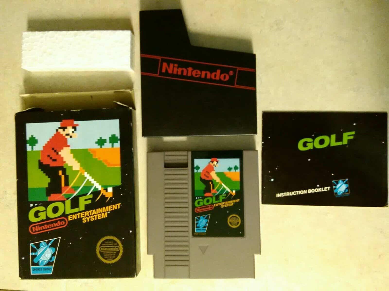 NES Golf CIB