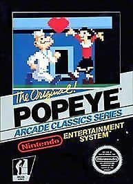 Popeye Box Art