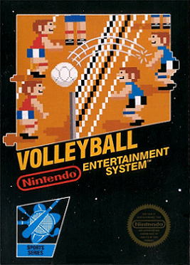 Volleyball Box Art