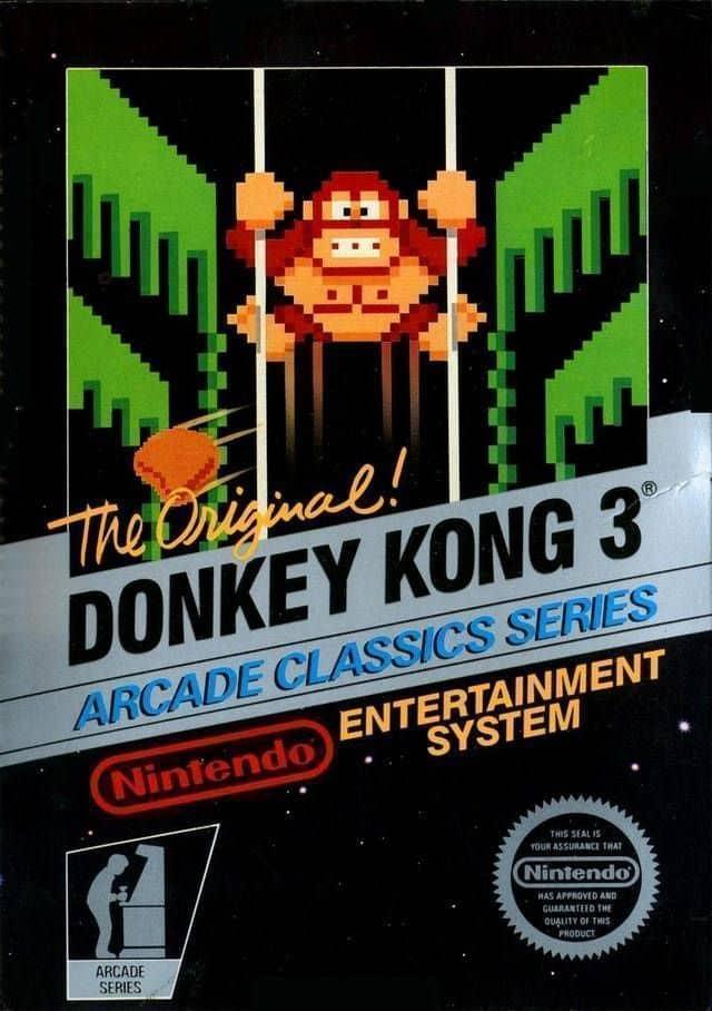 donkey kong 3 Box Art