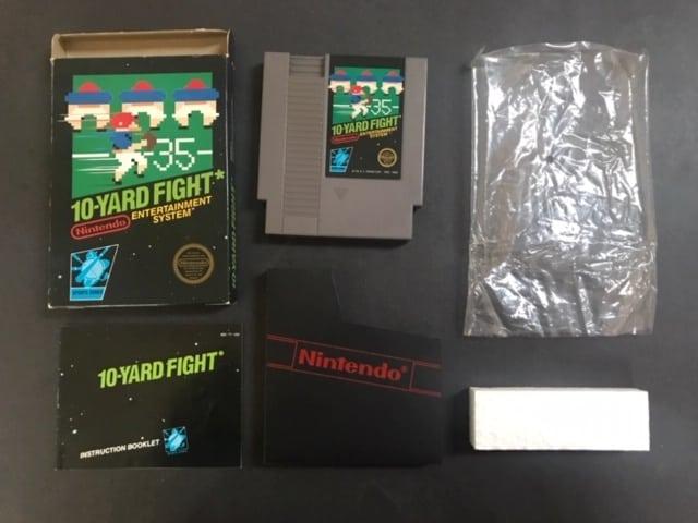 Nintendo 10-Yard Fight