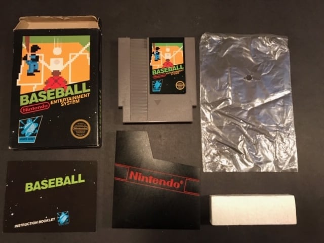 NES Baseball