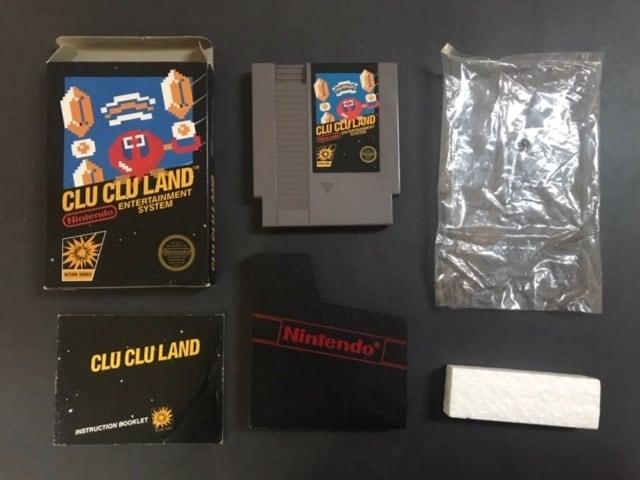 Clu Clu Land CIB