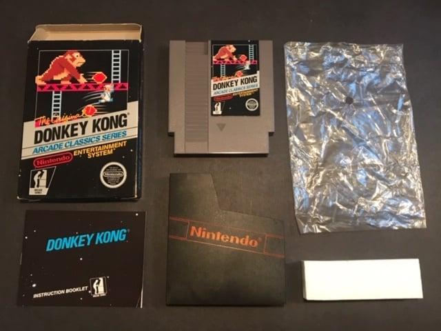 Donkey Kong CIB