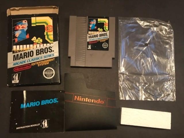 Mario Bros CIB