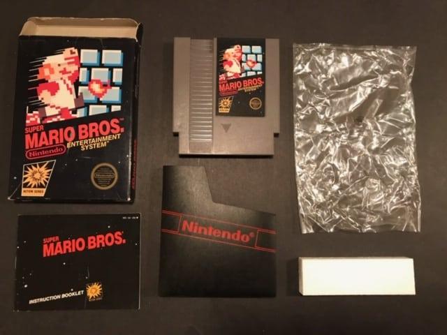 Super Mario Bros CIB