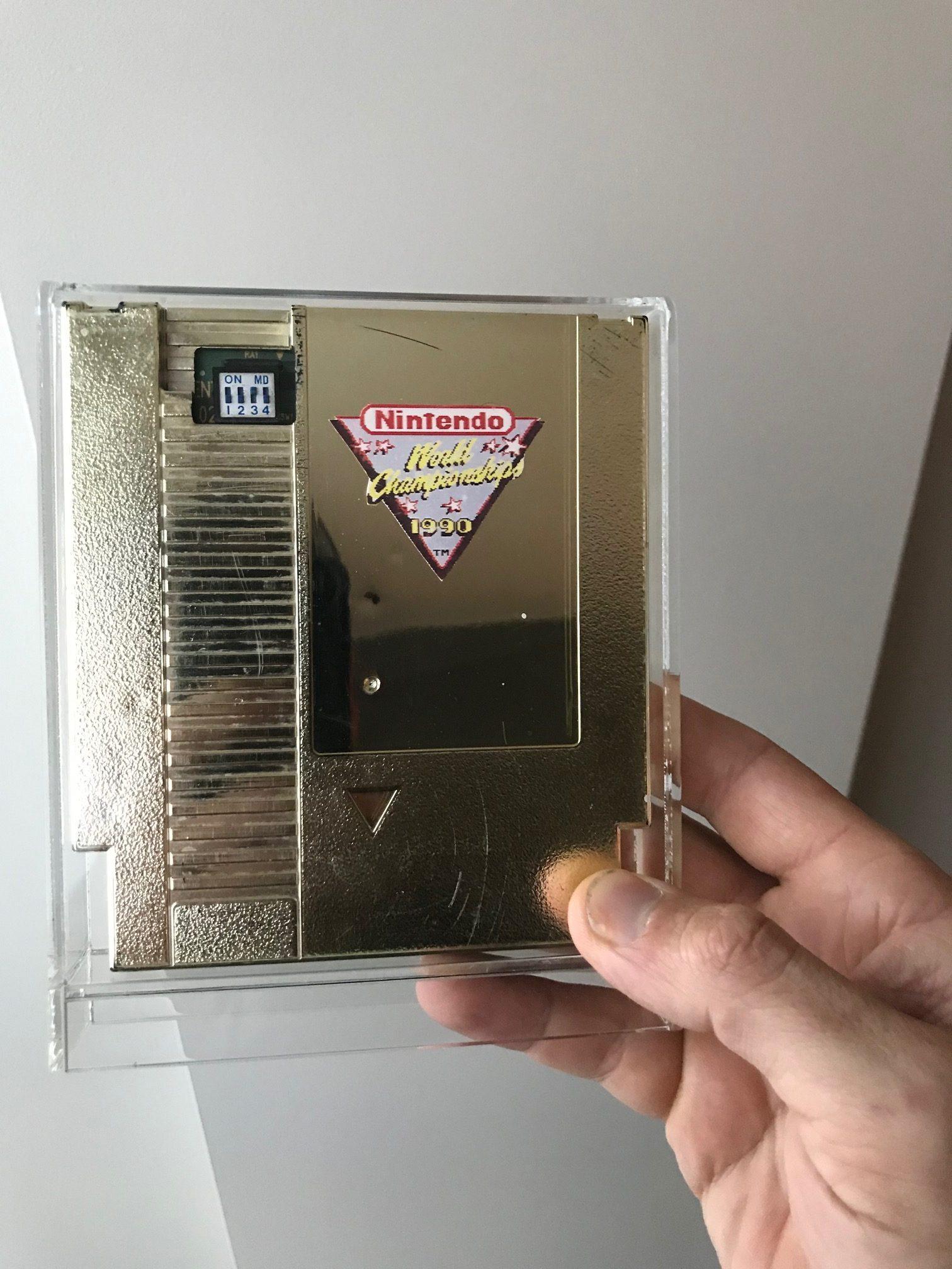 Nintendo World Championship Gold Cart