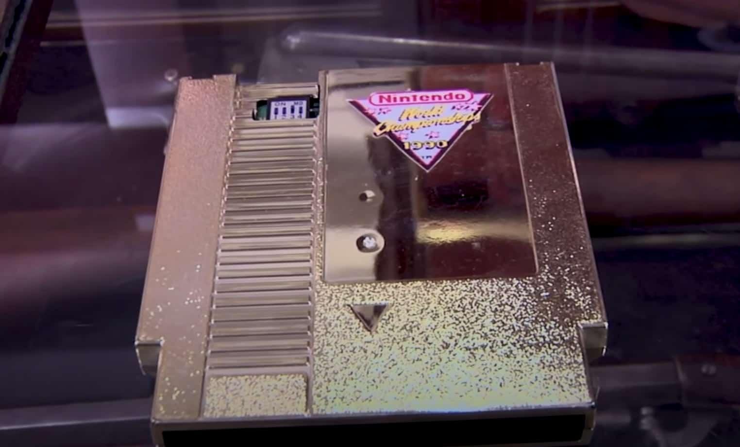 Nintendo World Championship Gold Cartridge